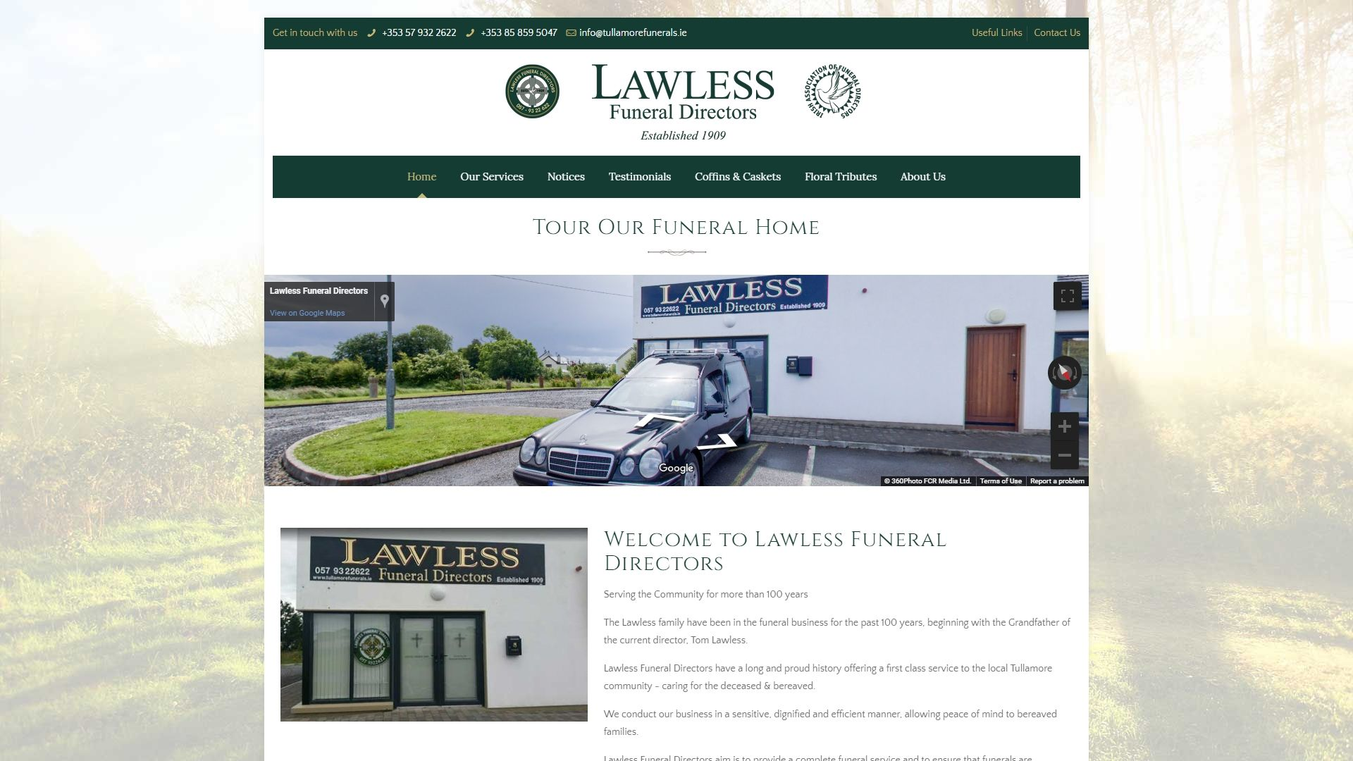 Our Works - TullamoreFunerals.ie